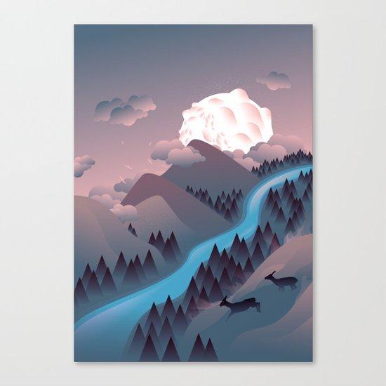 Sunquake Canvas Print