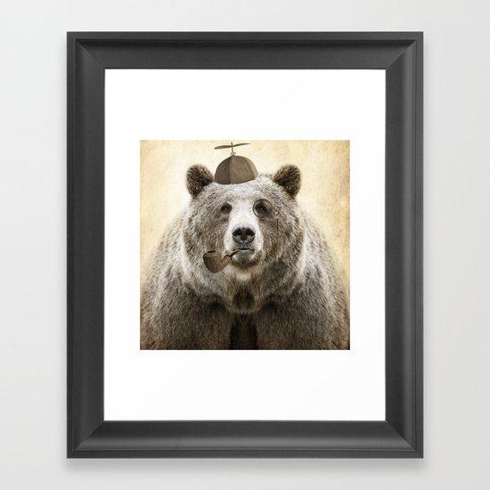 Bear Necessities Framed Art Print