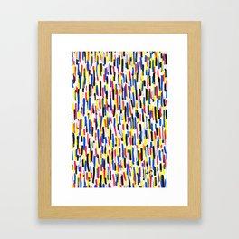Propaganda 02 Poster Patterns Framed Art Print