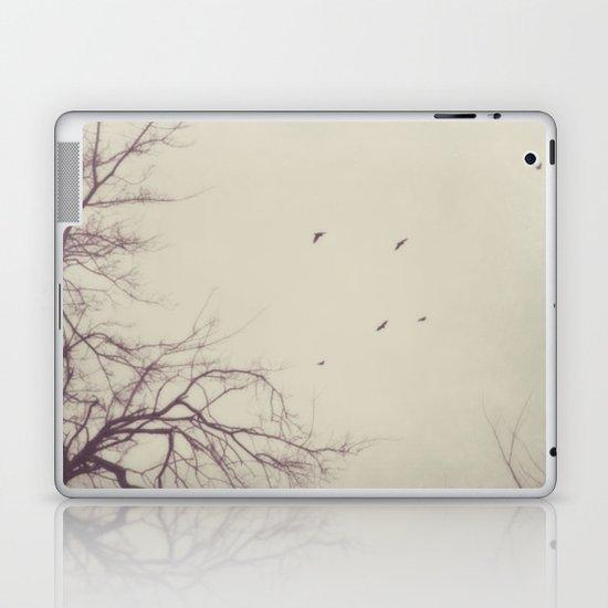 winter flight Laptop & iPad Skin