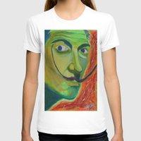 dali T-shirts featuring Dali by Adam Blount