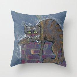 Hangover monday Throw Pillow