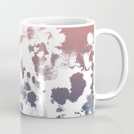 Ombre fade tie dye pastel trendy color way throwback retro palette 80s 90s style Coffee Mug