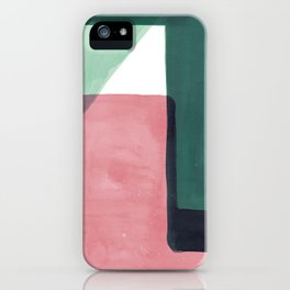 Tetra in Green and Pink iPhone Case