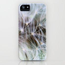 Dandelion Dream iPhone Case