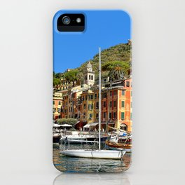 Colorful Fishing Village iPhone Case