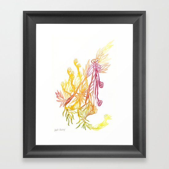 Winding Roots Framed Art Print