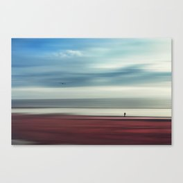 a walk in silence Canvas Print