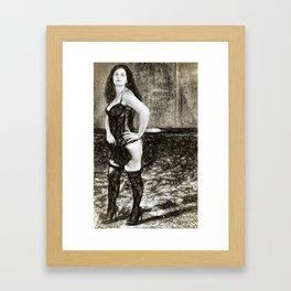 Ex/tasy #6 Framed Art Print