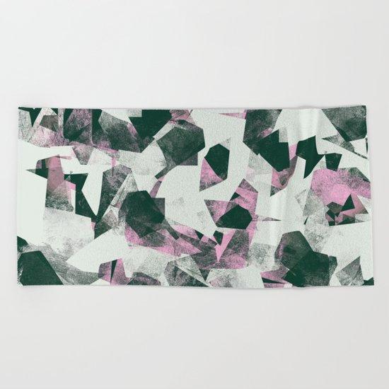 Camouflage XXXXII Beach Towel
