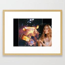 some velvet morning Framed Art Print