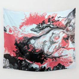 Coral Overture II Wall Tapestry