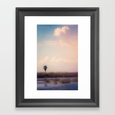 Island Heart Framed Art Print