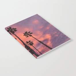 Palm Trees and Sunset Notebook