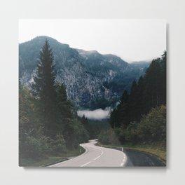 A road in Halstatt Metal Print