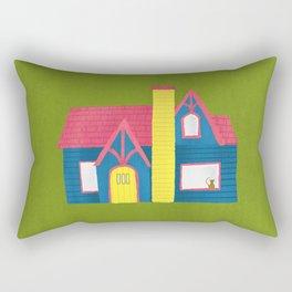 Architecture Series: Tudor Revival Rectangular Pillow