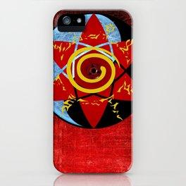 Naruto seal iPhone Case