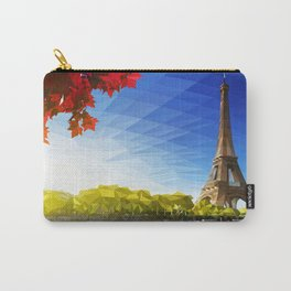 The Pinnacle of Light - Eiffel Tower & River Seine - Paris Carry-All Pouch