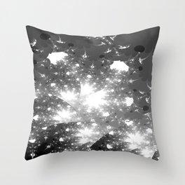 snow flurry Throw Pillow