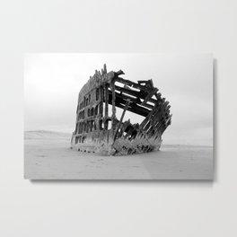 Peter Iredale Metal Print