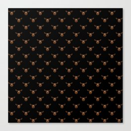 Dark Chocolate Moose Canvas Print