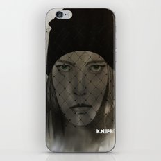 Mystery Girl iPhone & iPod Skin