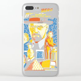 Heisenberg and the em Clear iPhone Case