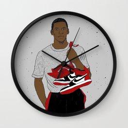 Young Air Jordan Wall Clock