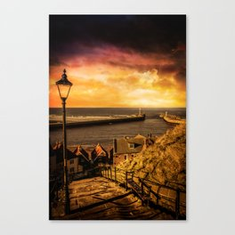 Whitby Wanderer Canvas Print