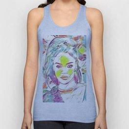 Rihanna - Celebrity Art (Illustration) Unisex Tank Top