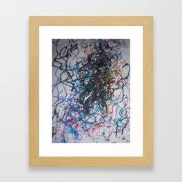 lines number 1 Framed Art Print