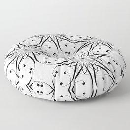 LETTERNS - I - Kunstler Script Floor Pillow