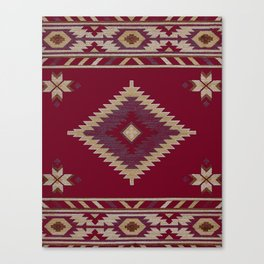 Moroccan traditional tapis Canvas Print
