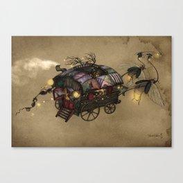 The Gypsy Wagon Canvas Print
