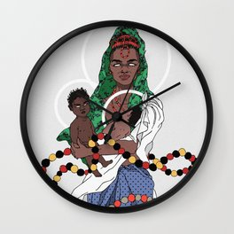 Sweet Mother Wall Clock