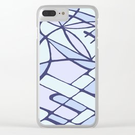 Fragment flower Clear iPhone Case