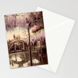 Wisteria at Kameido Stationery Cards