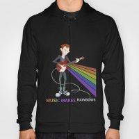 Radiohead Thom in Rainbows Hoody