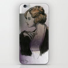 Woman with a Ring iPhone & iPod Skin