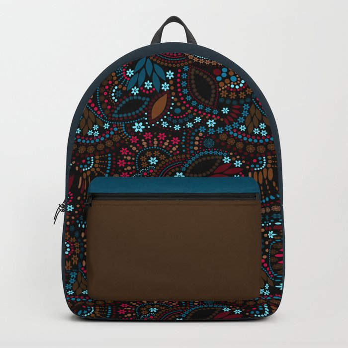 Abstract unusual cute background seamless pattern Backpack