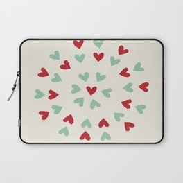 corazones 2 Laptop Sleeve