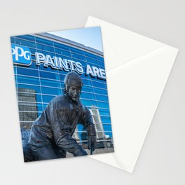 Pittsburgh Hockey Arena Statue Sports Pennsylvania Steel City Stationery Cards