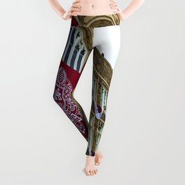 Keating Hall at Fordham University Commencement  Leggings