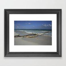 Carribean sea 14 Framed Art Print