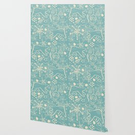 Design Inspired By Magical Times of Winter, the Time of True Peace, Joy and Happiness Wallpaper