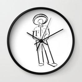 Mariachi Elefont Wall Clock