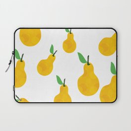 pear yellow Laptop Sleeve