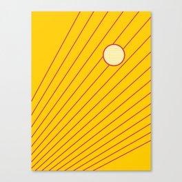 Sunny days #sun #sunshine Canvas Print