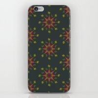 vegetable iPhone & iPod Skins featuring Vegetable Medley by Veronica Galbraith