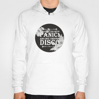 panic at the disco Hoodies featuring My Life Is Too Much Panic! not Enough Disco by Merch Pug